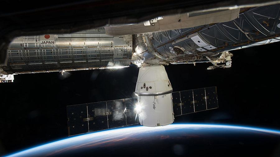 La capsula Dragon ha portato i campioni dell'esperimento NATO dalla ISS sulla Terra