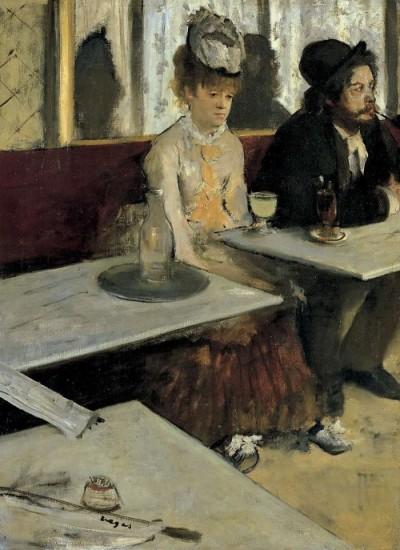 Assenzio - Edgar Degas (1876)