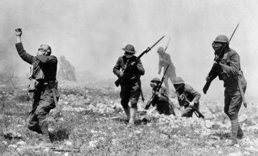 Armi chimiche usate durante la battaglia di Ypres