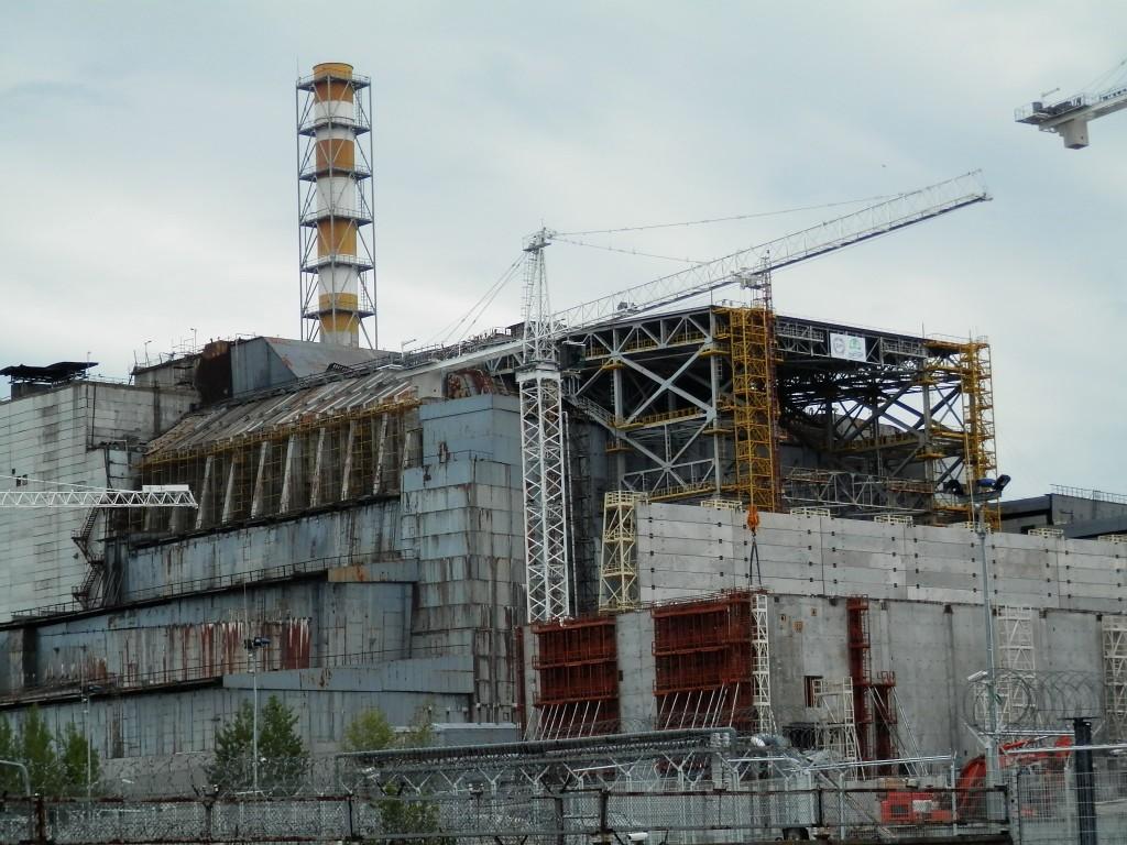 Il reattore numero 4 della centrale di Chernobyl