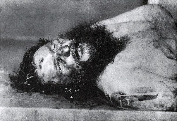 Il corpo tumefatto di Rasputin